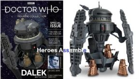 Doctor Who Figurine Collection Special #21 Dalek Battle Pod Eaglemoss